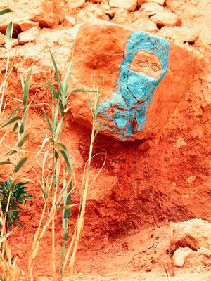 Berber - Ort: Ait Ben Haddou/Marokko