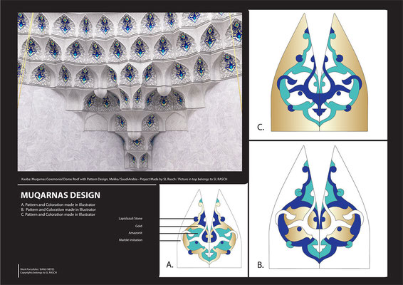 Create Pattern Vector Graphics with Adobe Illustrator - Mekka Mosque / Company Work