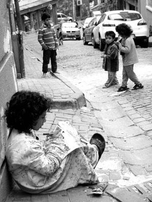 Eine Flüchtlingsgeschichte - Ort: Istanbul/Turkey