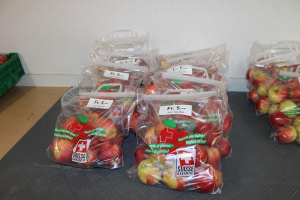 Äpfel aus unseren Obstanlagen