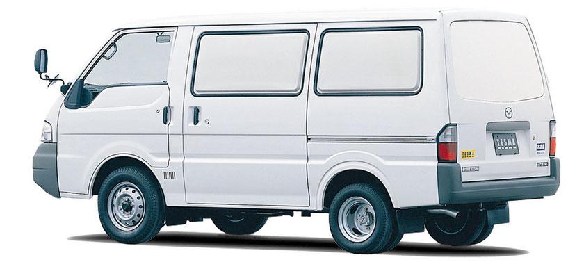 ボンゴバン冷凍車