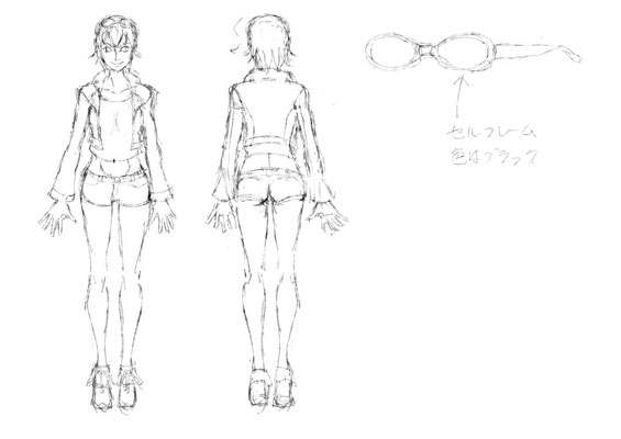 "[LOVE!MAZDA Original Character ""KOERU""] Design and Illustration and Draw by Hide Yuki"