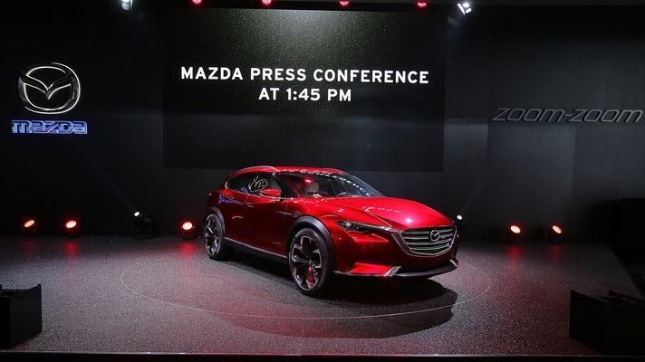 マツダ越(KOERU)Thomas Niedermüller/Getty Images for Mazda Motor Co.