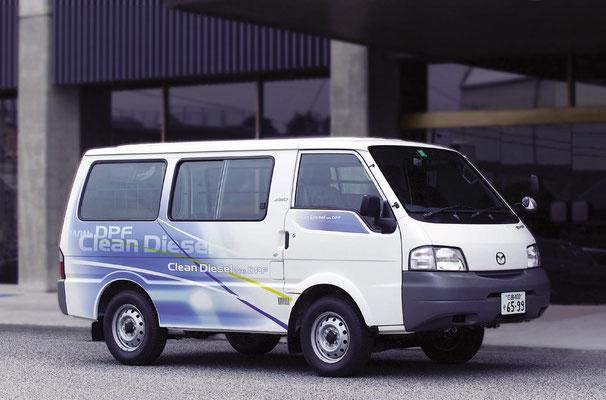 新型ディーゼルモニター車(ボンゴバン)