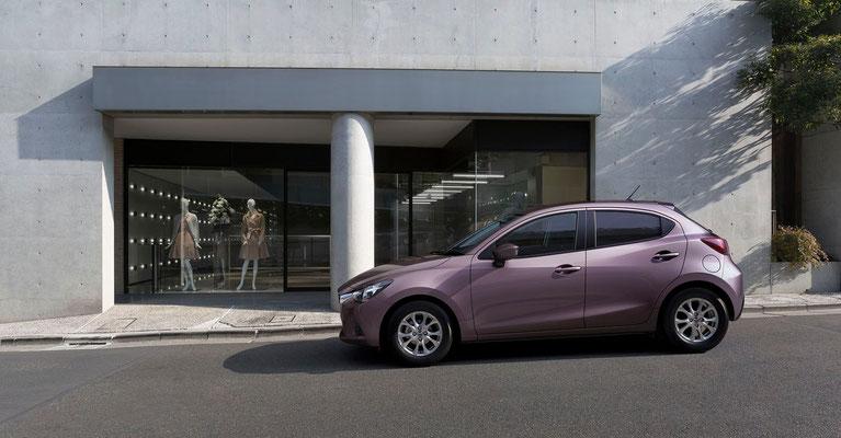 新型「デミオ」(日本仕様車)