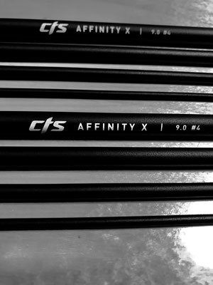 CTS Affinity X  4wt 9ft 4 pcs - Custom made