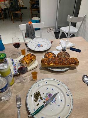 Essen zu Coronazeiten und Ausgangssperre ab 19.00 Uhr