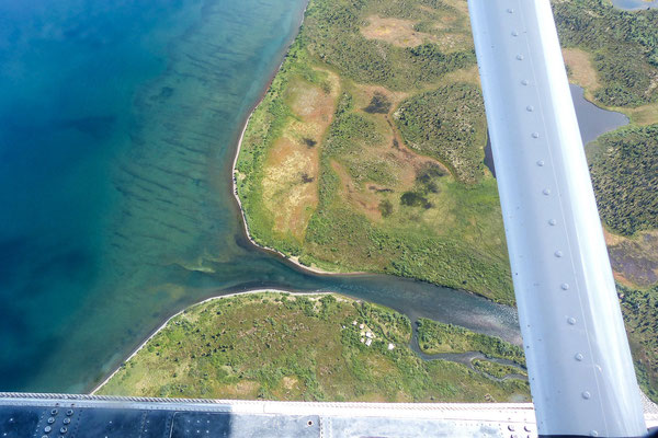 Alagnak Start aus dem Nonvianuk Lake