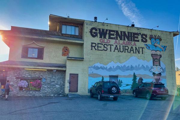 Gwennis: letztes dolles Frühstück in der Zivilisation