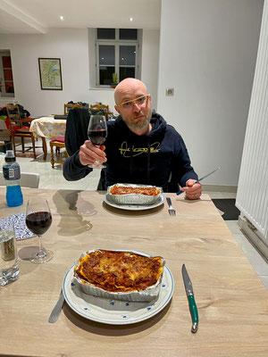Mr. Adams, Mr. Lasagne, Bob - the chef!