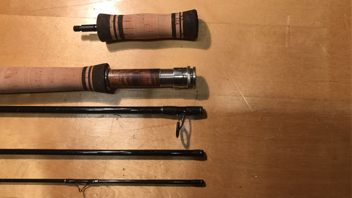"Isar Trout Spey Rod 3-4wt. 11"" - Anglers Roost"