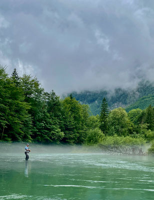 Alaska-Feeling an der Steyr