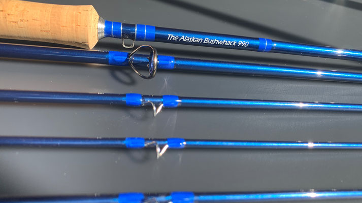 The Alaskan Bushwhak - the ultimate Flyrod for Pacific Salmons