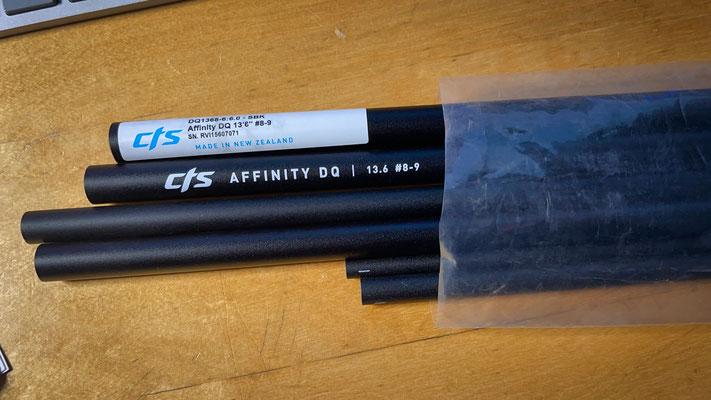 """CTS Affinity DQ 13,6"""" #8-9 6pcs"""