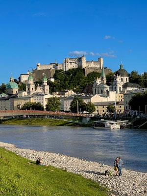 Ausgang in Salzburg