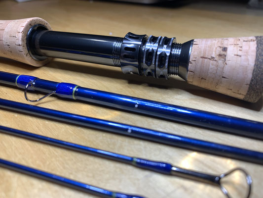 Floaters delight fast action #8 9wt fly rod