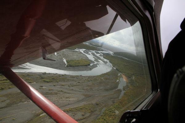 Landeanflug auf die nächste Kiesbank