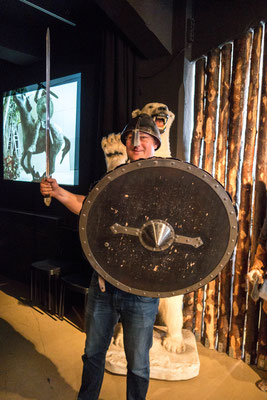 Angriff ist die beste Verteidigung, Saga Museum Reykjavik