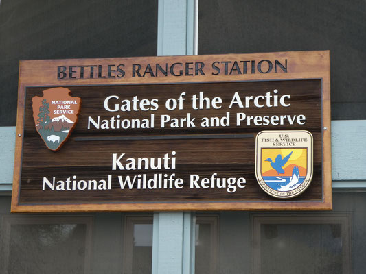 Gates of the Arctic Ranger Station