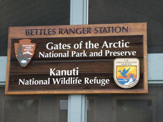 Gates of the Arctic Ranger Station