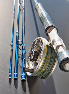 Exclusive Saltwater Flyrod for Bonefish 7wt 9ft.