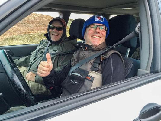 Claude, Misch & Subaru Forester