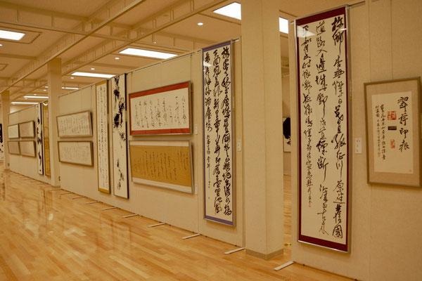 「第53回 兵庫県書道展」会場風景2