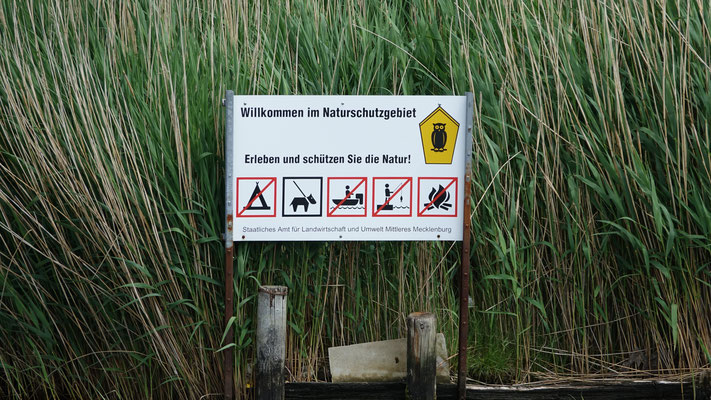 Schutzgebietsgrenzen sichtbar gemacht!