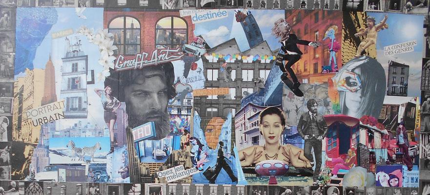 collage Mixité urbaine