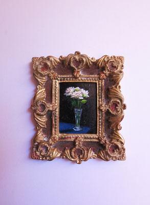 Whispering roses, original oil painting