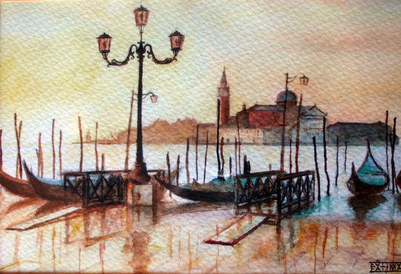Venice, watercolor