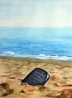 Cover design, watercolor