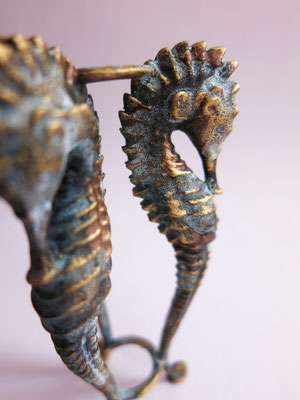 Seahorse tripod, original piece created by me