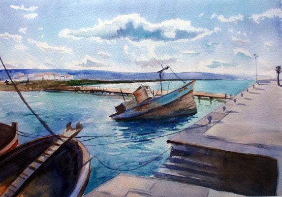 Barbate, watercolor