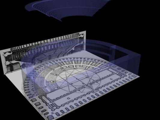 "Virtual restoration of ancient roman Theatre in Ronda""Teatro de Acinipo"""