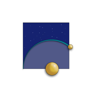 Logo for astronomical center contest (inspired on Helium)