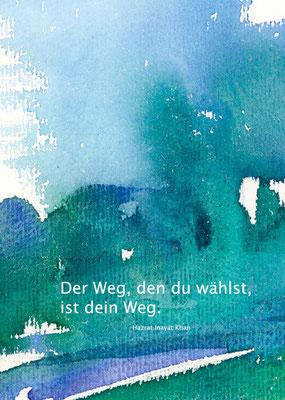 Motiv 13-d Aquarell-Postkarte - Copyright Ute Andresen