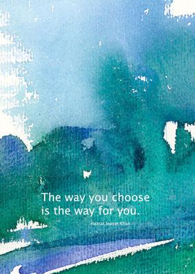 Motiv 13-e Aquarell-Postkarte - Copyright Ute Andresen