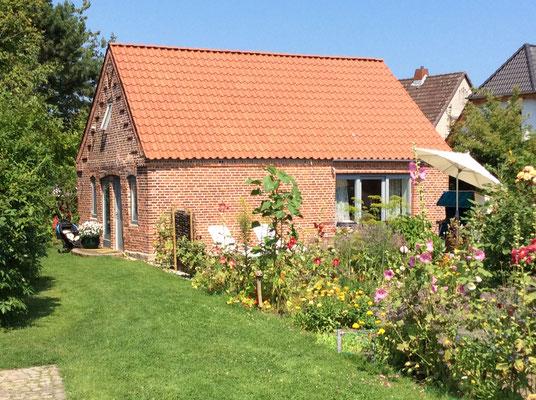 Altes Backhaus - Gartenseite