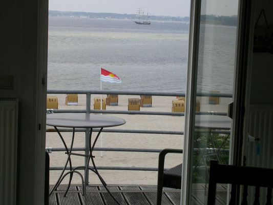 Wohnung am Strand - Traumblick