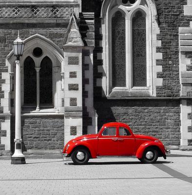 Magisches Auto -Christchurch Neuseeland