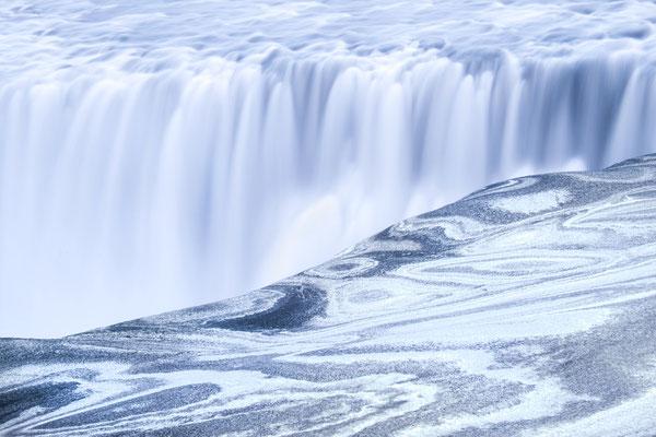 Detifoss, der stürzende Wasserfall