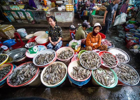 Fischmarkt, Vietnam