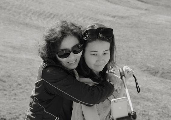 Selfie mit Mama
