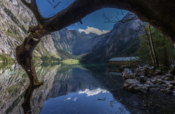 "2.Platz ""Color"" Besucher-Wertung: Walter Schätz ""Obersee Berchtesgaden"""
