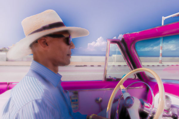 Gerold Slama: Cruising am Malecon, Havanna