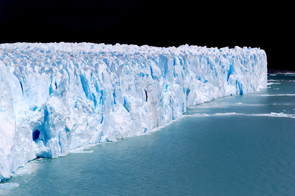 Berthold Rosenberg: Glaciar Perito Moreno
