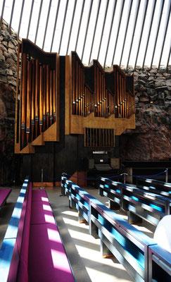 Siegfried Fischer: Felsenkirche in Helsinki