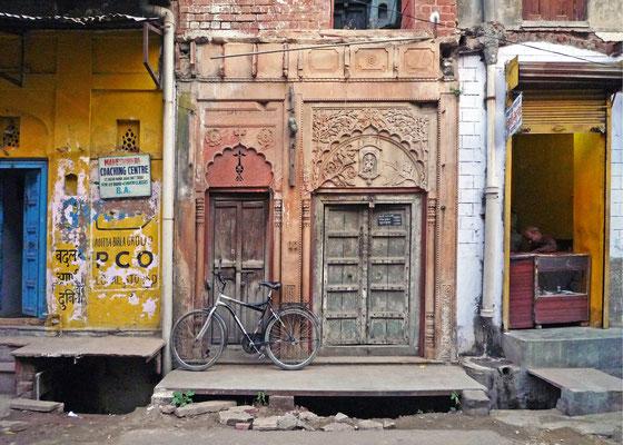 Fahrrad, indisch, männlich