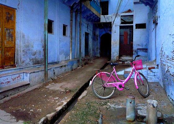 Fahrrad, indisch, weiblich
